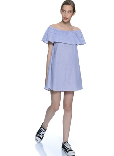 Mink Pink Elbise Mavi